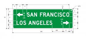 D1-2 Destination Guide Sign Spec