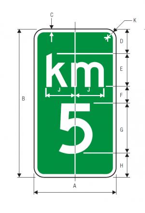 D10-1 Guide Sign Spec