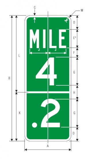 D10-1a Guide Sign Spec