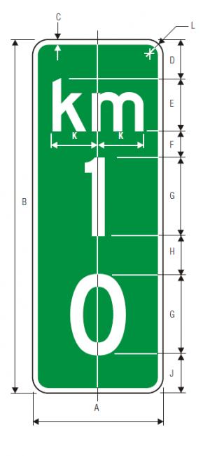 D10-2 Guide Sign Spec