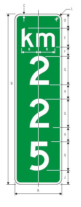 D10-3 Guide Sign Spec