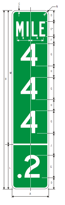 imgD10-3a Guide Sign Spec