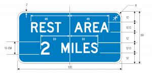 D5-1a Guide Sign Spec