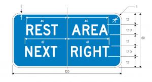 D5-1b Guide Sign Spec
