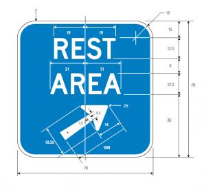 D5-2b Guide Sign Spec