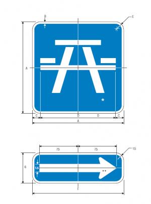 D5-5a ROADSIDE TABLE SYMBOL