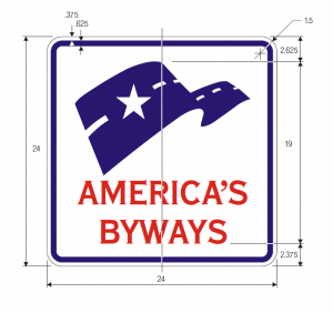 D6-4 National Scenic Byways Guide Sign Spec