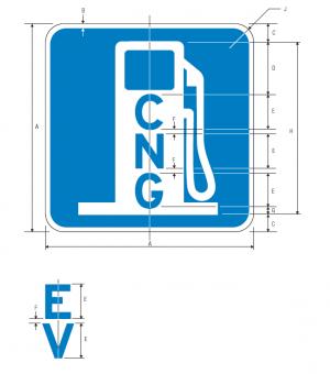 D9-11a Alternative Fuel Guide Sign Spec