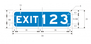 E1-5 Guide Sign Spec