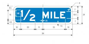 E2-3 English Guide Sign Spec