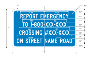 imgI-13a Emergency Notification Guide Sign Spec