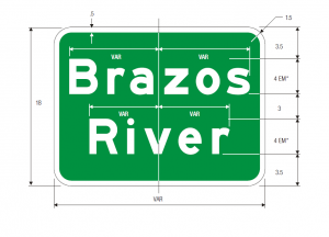 imgI-3 Brazos River Guide Sign Spec