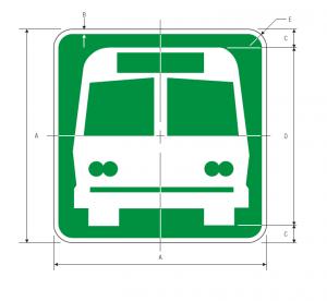 I-6 Bus Station Guide Sign Spec