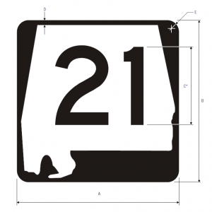 M1-5 State Route Guide Sign Spec
