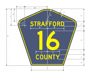 M1-6 County Route Guide Sign Spec