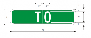 M4-13 To Guide Sign Spec