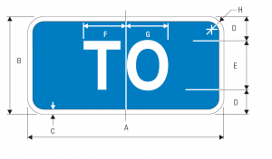 M4-5 Interstate To Auxiliary Guide Sign Spec