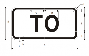 M4-5 To Auxiliary Guide Sign Spec