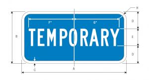 M4-7 Interstate Guide Sign Spec