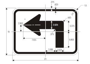 M5-1 Guide Sign Spec