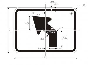 M5-2 Guide Sign Spec