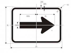 M6-1 Guide Sign Spec
