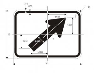 M6-2 Guide Sign Spec