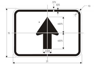 M6-3 Guide Sign Spec
