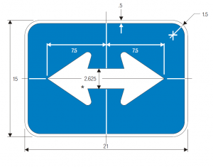 M6-4 Interstate Guide Sign Spec