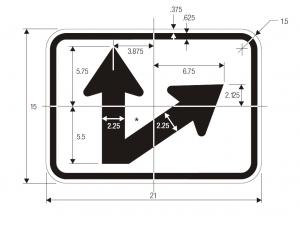 M6-7 Guide Sign Spec