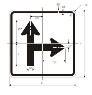 M6-8 Guide Sign Spec