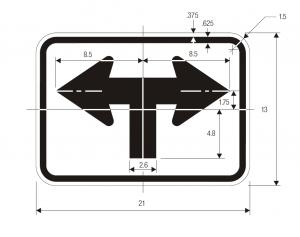 M6-9 Guide Sign Spec