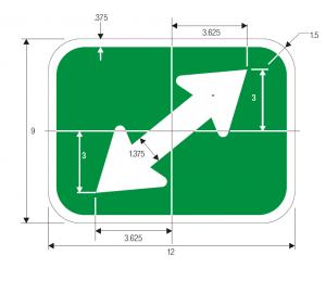 M7-3 Guide Sign Spec