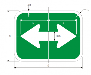 M7-5 Guide Sign Spec