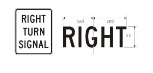 R10-10R Regulatory Sign Spec