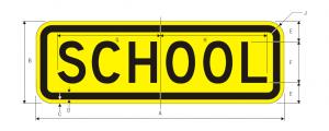 S4-3 School Sign Spec