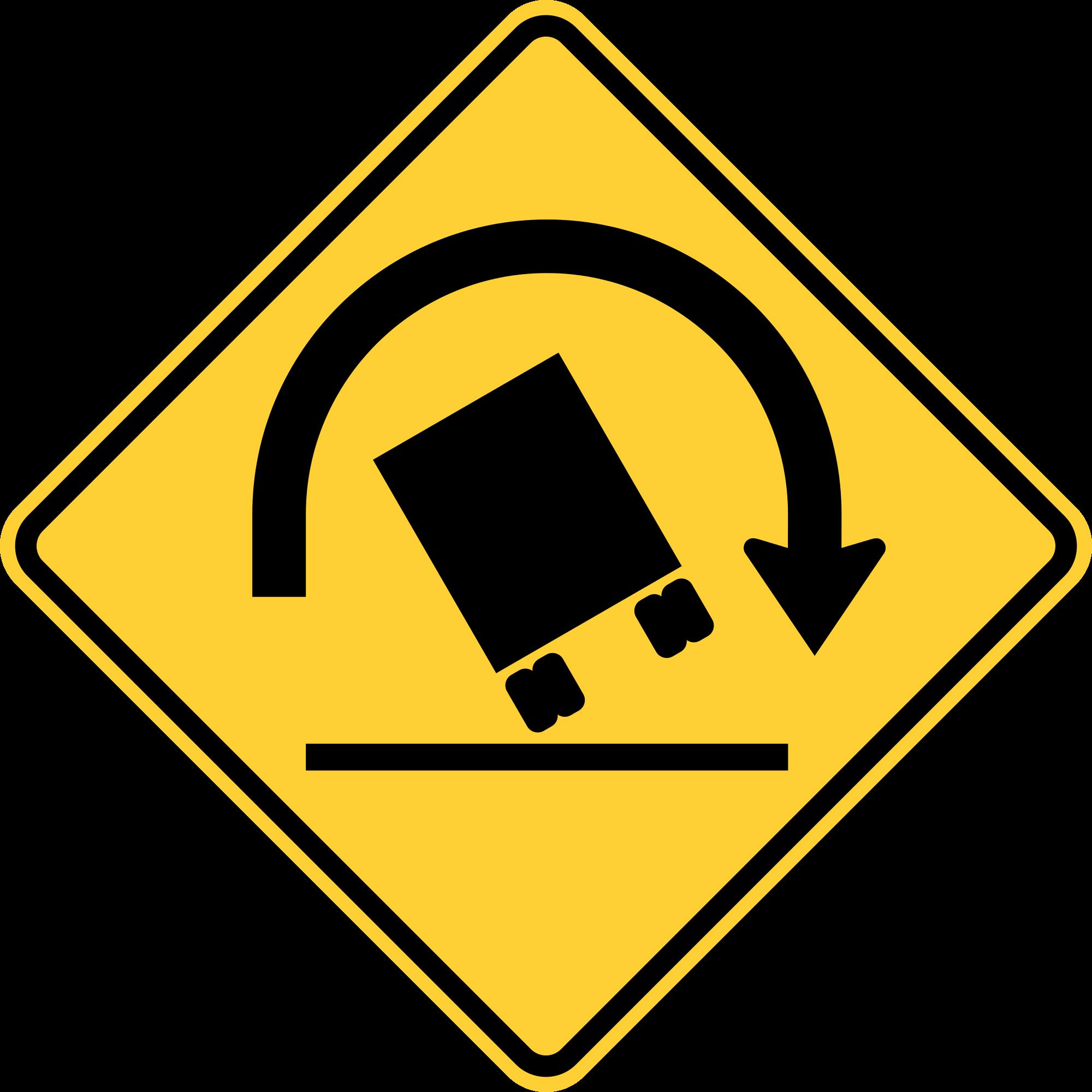 W1-13 TRUCK ROLLOVE