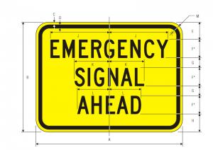 W11-12p-EMERGENCY-SIGNAL-AHEAD Img
