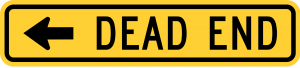 W14-1aL DEAD END