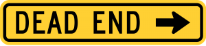 W14-1aR DEAD END
