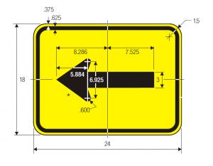 W16-5pL-ARROW-PLAQUE Img