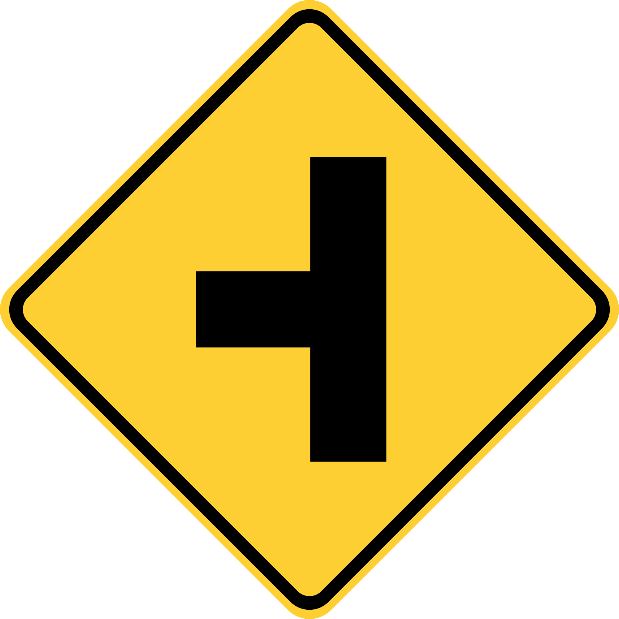 W2-2L Warning Sign