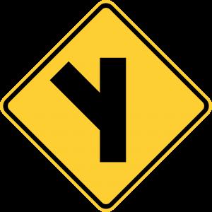W2-3L Warning Sign
