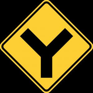 W2-5 Y-Symbol Warning Sign