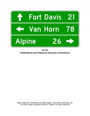 D1-3a Destination Guide Sign