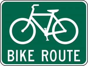 D11-1 Bicycle Route Guide Sign