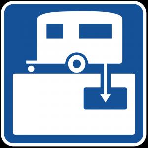 D9-12 RV Sanitary Station Guide Sign
