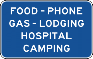 D9-18a Guide Sign