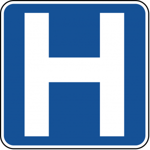 D9-2 Hospital Guide Sign