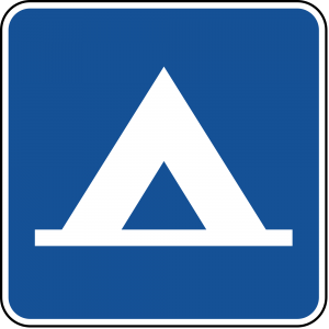 D9-3 Camping Guide Sign